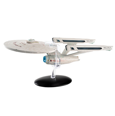 STAR TREK Official Starships Mag Oversized Ed #6 USS Enterprise NCC-1701 A 10.5""