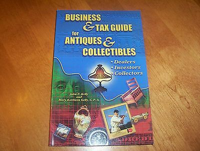 BUSINESS & TAX GUIDE FOR ANTIQUES & COLLECTIBLES Dealers Invest Collector Book
