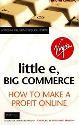 Little E, Big Commerce: How to Make a Profit Online (Virgin Business Guides),Ti