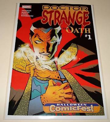 DOCTOR STRANGE : The OATH # 1 HALLOWEEN COMICFEST Marvel PROMO Comic 2015 NM
