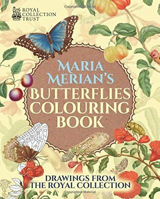 Maria Merian's Butterflies Colouring Book (Colouring Books) by Merian New=#