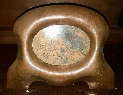 RARE Arts Crafts Stickley Era Hammered Copper Picture Frame Large!