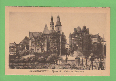 LUXEMBOURG  -  Eglise Saint Michel vers 1930.