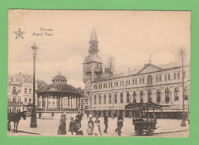 OOSTENDE  - La Grand - Place vers 1930.
