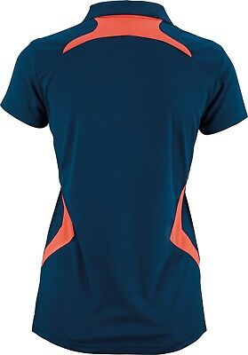 VICTOR Polo Function Female coral 6928 Sport Shirt Damen Badminton Squash Gr. 36