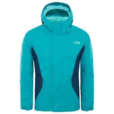 78b2c14732 The North Face Kira Triclimate Kokomo Green , Vestes The north face ,  montagne
