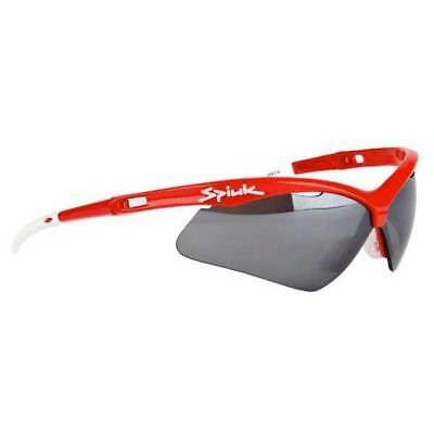 Spiuk Ventix/humo Mirror Lenses Red , Lunettes Spiuk , cyclisme , Protections