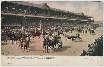 Review Day, Canadian National Exhibition, Toronto, Ontario 1910