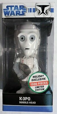 ESS329. STAR WARS Holiday Exclusive K-3PO L/E of 1500 Bobblehead by Funko (2008)
