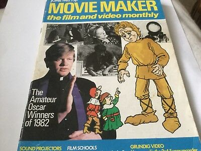 Movie Maker Magazine June 1982