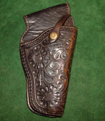 "Vintage & Very Rare Holster Made by Cowboy Actor ""Bob Baker""- ""Leland T. Weed"""