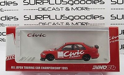 INNO64 1:64 HONDA CIVIC EG9 FERIO All Japan Touring Champion Test Car JTCC 1995