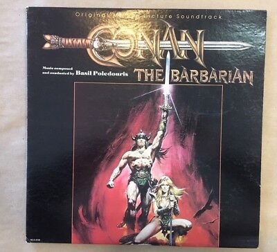 OST - CONAN THE BARBARIAN Original Soundtrack Vinyl 1982