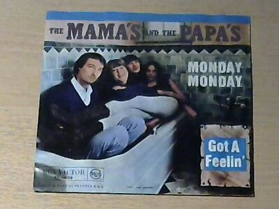 """7"""" THE MAMA`S AND THE PAPA`S * Monday Monday"""