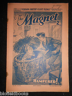 The Magnet; Billy Bunter's Own Paper - WWII Era Boy's Comic - March 9th 1940