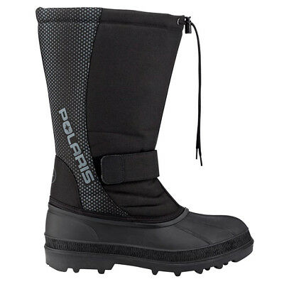 Polaris™ Touring Unisex Black Winter Snowmobile Boots, 2864195XX