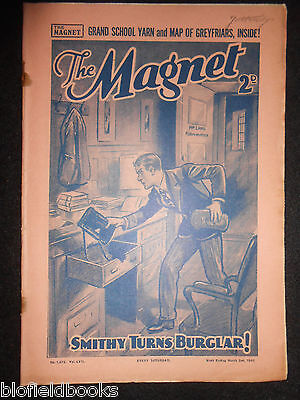 The Magnet; Billy Bunter's Own Paper - WWII Era Boy's Comic - March 2nd 1940