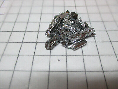 Tellurium Metal Element Sample 10g Fractured Chunks 99.99% Pure - Periodic Table