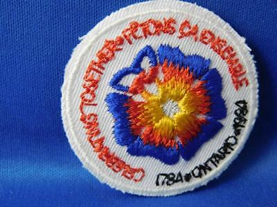 Ontario 1784 1984 Celebrating Together 200 Years Vintage Patch Souvenir Badge