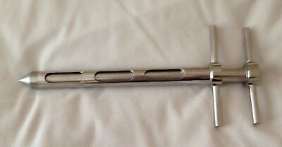 Stainless Steel Slot Sampler - 3 Slots, 300Mm Long