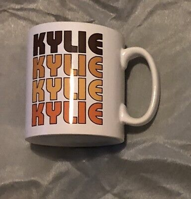 Mega Rare Kylie Minogue Golden VIP Only Mug ~ Not For Sale Anywhere