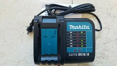 Makita DC18SD  Battery Charger for Li-Ion Batteries Bl1830 bl1840 bl18150 oem