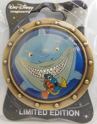 Disney WDI - Finding Nemo D23 Event Marlin, Dory, and Bruce LE 250 Pin Sold Out!