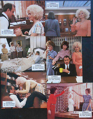 NINE TO FIVE 16 x L.C French 1981 Dolly PARTON