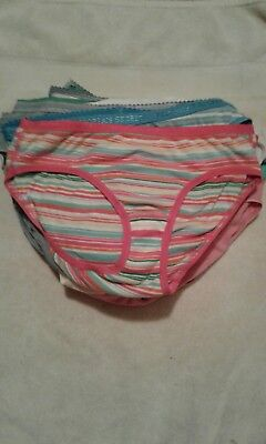Victoria Secret Cotton Vintage Bikini Panties Size MED 26 pair LOT