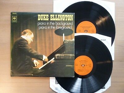 Duke Ellington – Piano In The Background Piano In The Foreground 2LPs  1972 m-