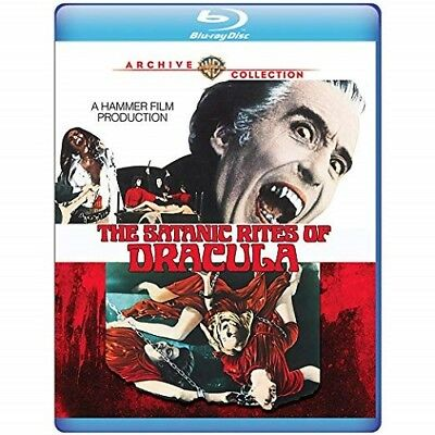 The Satanic Rites Of Dracula (Christopher Lee Peter Cushing) New Blu-ray