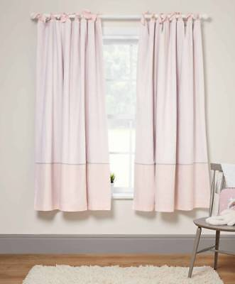 Mamas and Papas - Welcome To The World - Tab Top Curtains (132 x 160 cm) - Pink