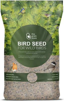 Robin Bird Food for Garden Feeders | 20KG Wild Bird Seed | from The Grain Store
