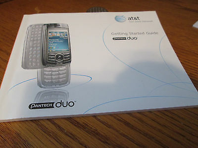 Pantech C810 Duo Cell Phone Users Guide Owners Manual