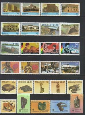 Zimbabwe Mnh Selection
