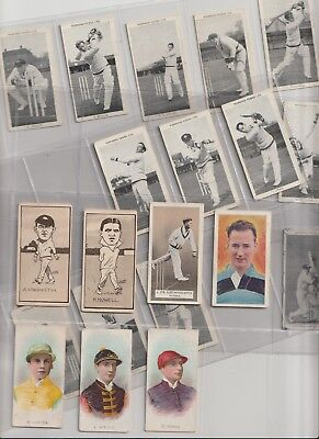 Cigarette / Tea Cards Test Crickters Mixture  From Collection
