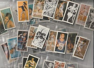 Cigarette / Tea Cards Brooke Bond Olympic Greats Set Of 40 From Collection