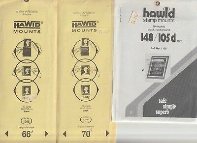 Hawid Stamp Mounts Unused In Packets Selection Number 04 From Collection