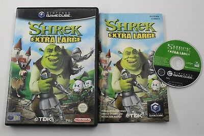 Nintendo Gamecube Shrek Extra Large Pal España Completo Game Cube Gc