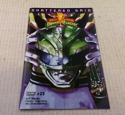 Mighty Morphin Power Rangers Issue #25 / Green Ranger Variant / Shattered Grid