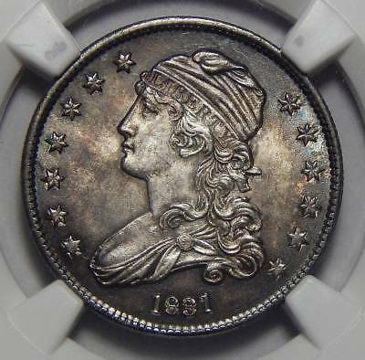 1831 Ngc Ms65 Large Letters Capped Bust Quarter
