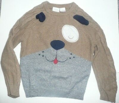 KOALA KIDS Boys Pullover Sweater Size 5T PUPPY DOG Cotton Clothes Top