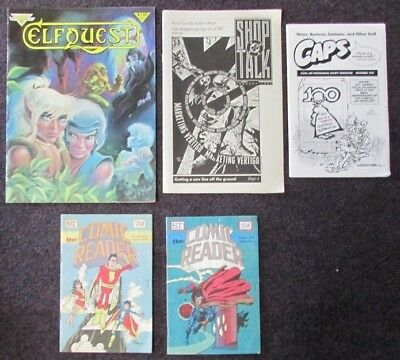 Science Fiction Miscelleaneous Magazines Lot Of 5 L