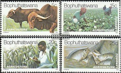 Bophuthatswana 51-54 (complete.issue.) unmounted mint / never hinged 1979 Agricu
