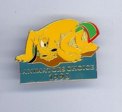 1998 WDCC Disney Animator's Choice Dog Pluto with Flypaper Stuck on Tail LE Pin