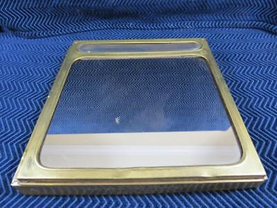 Vintage Early 1900's Uneeda Biscuit Nabisco Glass Store Display Topper