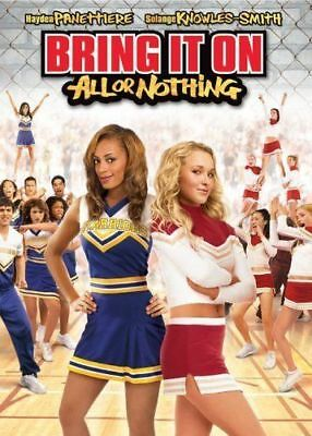 Bring It On All or Nothing FULL SCREEN W/OUTER SLEEVE CHEERLEADERS VERY GOOD DVD