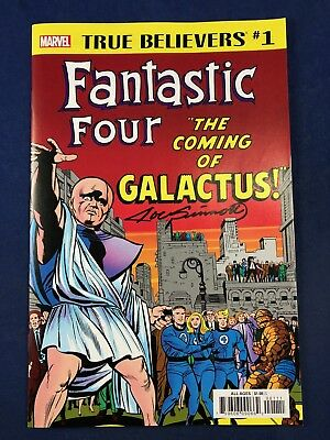 Fantastic Four #48 Marvel Comics True Believers #1 Variant Signed Joe Sinnott