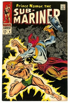 Sub-Mariner #4 (1968) VF- New Marvel Silver Bronze Collection