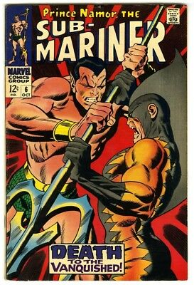 Sub-Mariner #6 (1968) Fine+ New Marvel Silver Bronze Collection